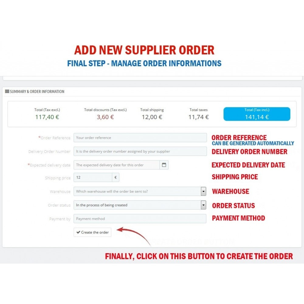 module - Gestión de Pedidos - WK Suppliers Orders Management - 5