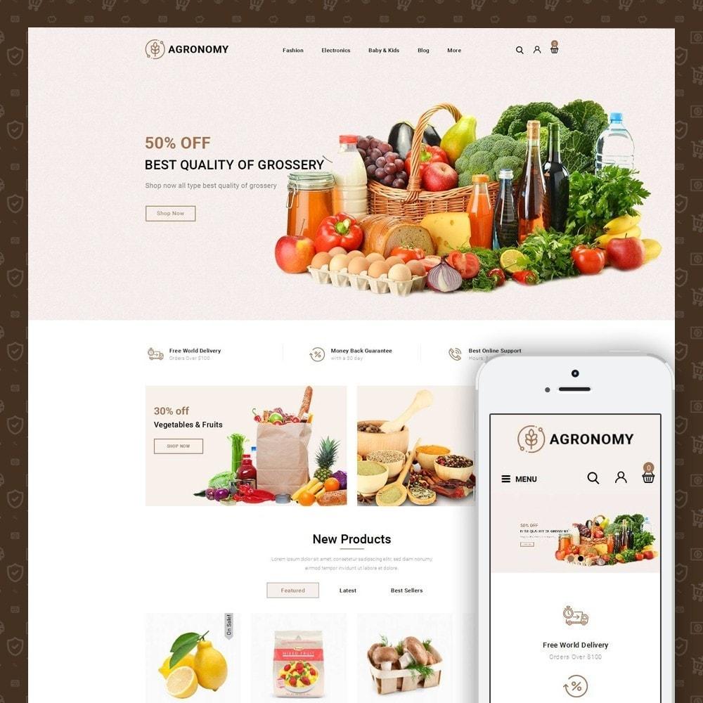 theme - Alimentation & Restauration - Agronomy - Organic Store - 1