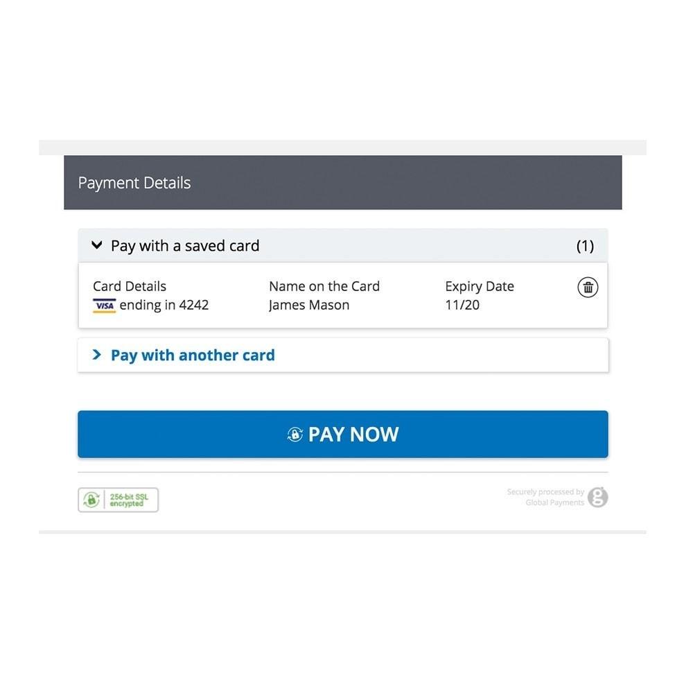 module - Paiement par Carte ou Wallet - Global Payments - HPP - 5
