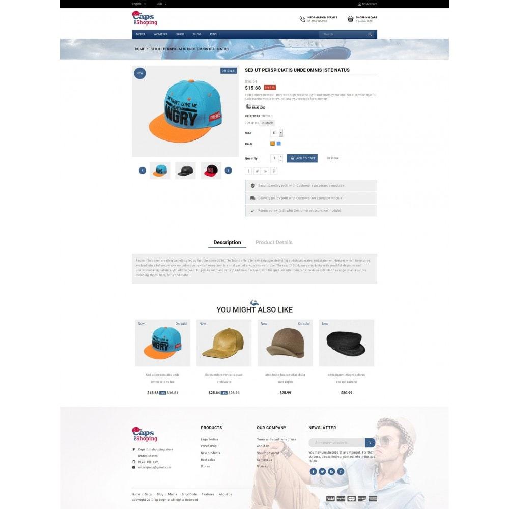 theme - Mode & Schuhe - Caps Store - 5