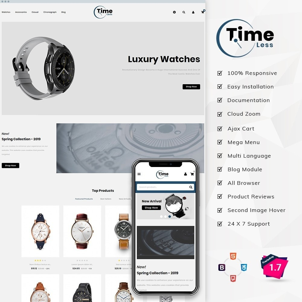 theme - Moda y Calzado - Timeless Watch Store - 1