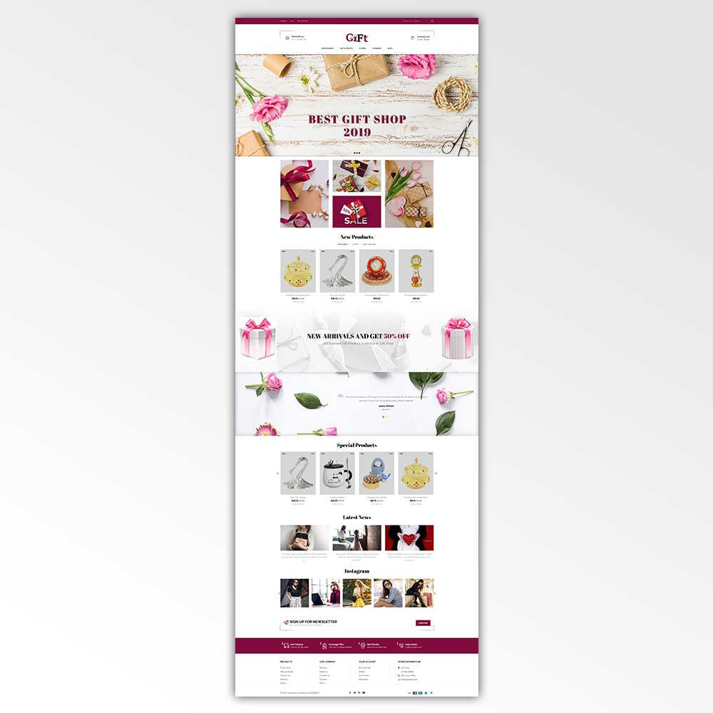 theme - Gifts, Flowers & Celebrations - Gift - Store - 2