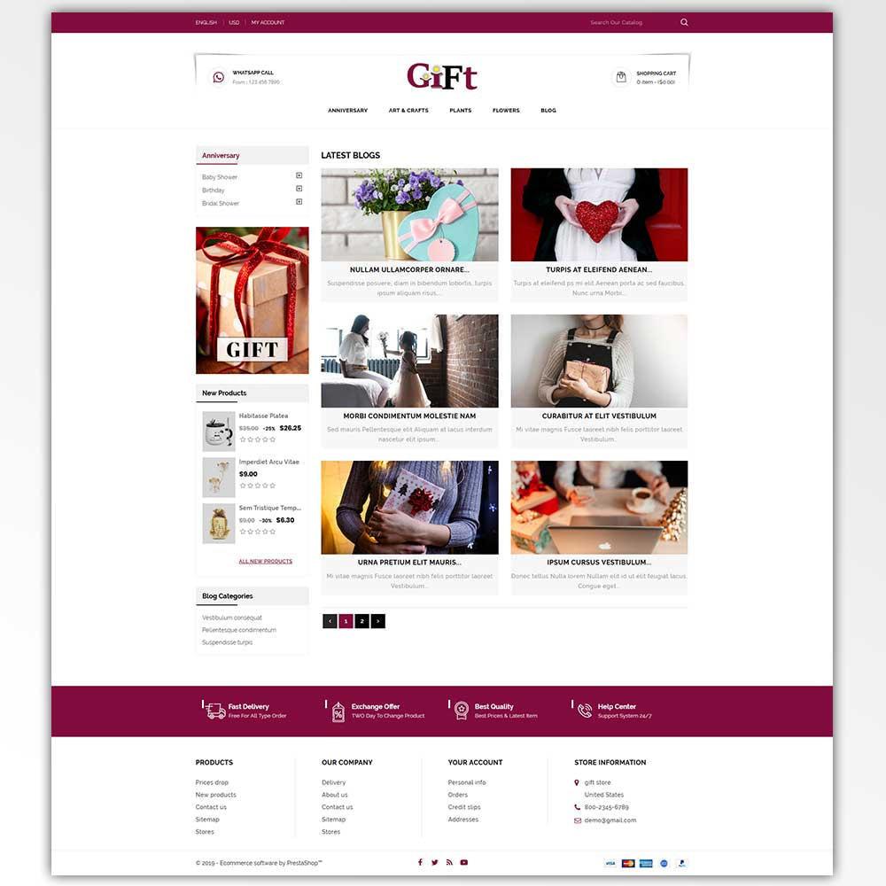 theme - Cadeaus, Bloemen & Gelegenheden - Gift - Store - 8