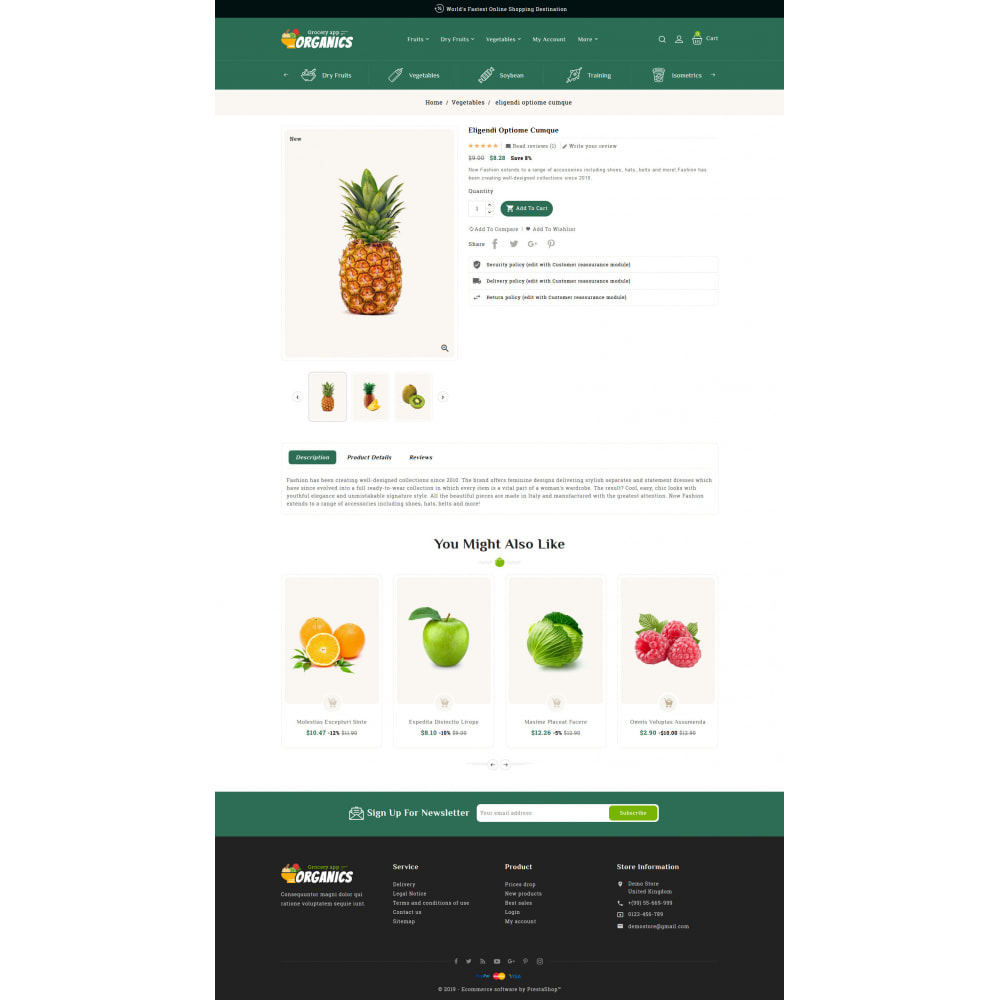 theme - Lebensmittel & Restaurants - Organics - Online Grocery Shop - 5