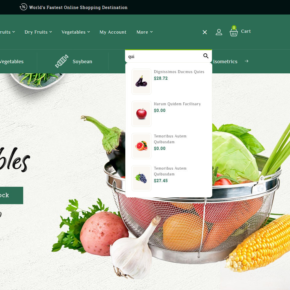 theme - Lebensmittel & Restaurants - Organics - Online Grocery Shop - 10