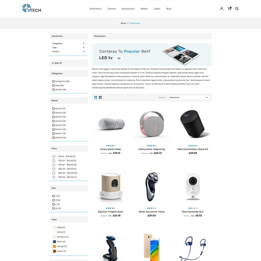 theme - Elektronica & High Tech - Etech Electronics & Computers Store - 3