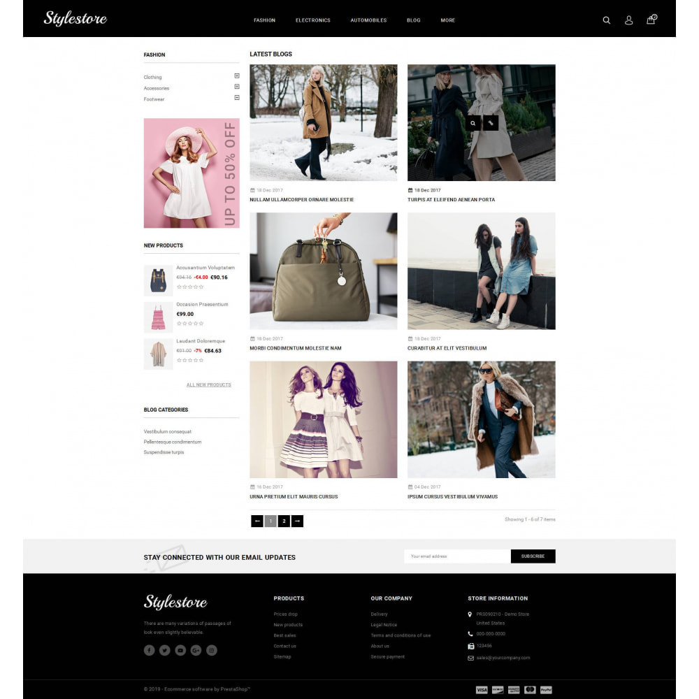 theme - Fashion & Shoes - Unique Style Store - 9