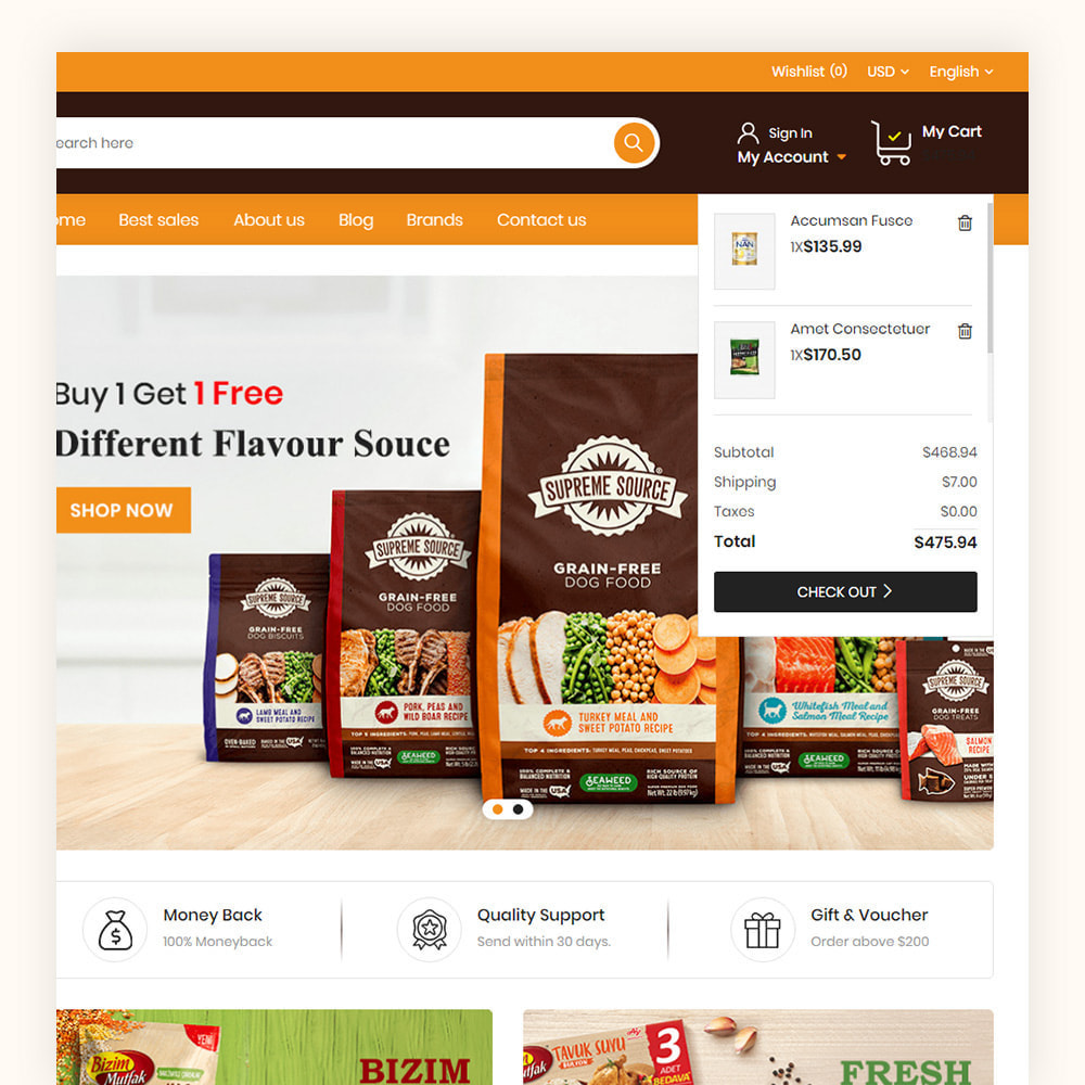 theme - Food & Restaurant - Daily Town Grocery Store - 4