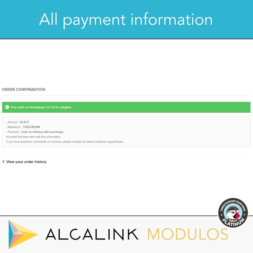 module - Betaling bij Levering - Payment cash on delivery with commission/surcharge - 5