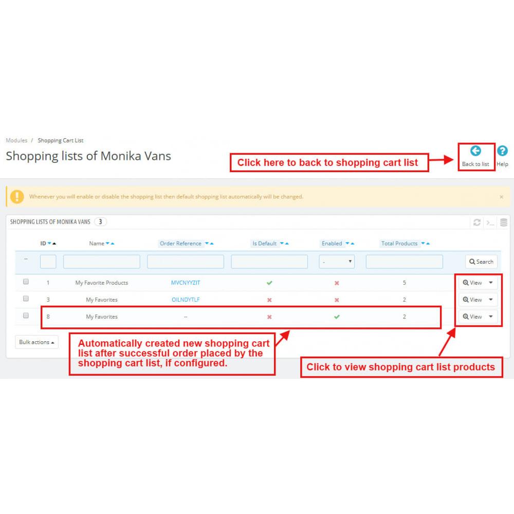 module - Wishlist & Gift Card - Shopping Cart List | Wishlist Buy Later | Save Favorite - 17