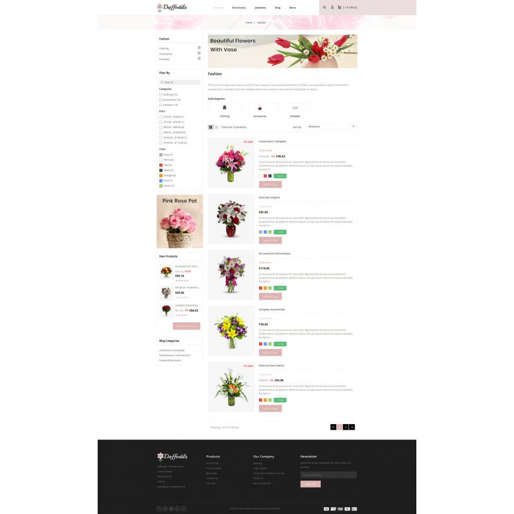 theme - Prezenty, Kwiaty & Uroczystości - Daffodils - Flowers Store - 4