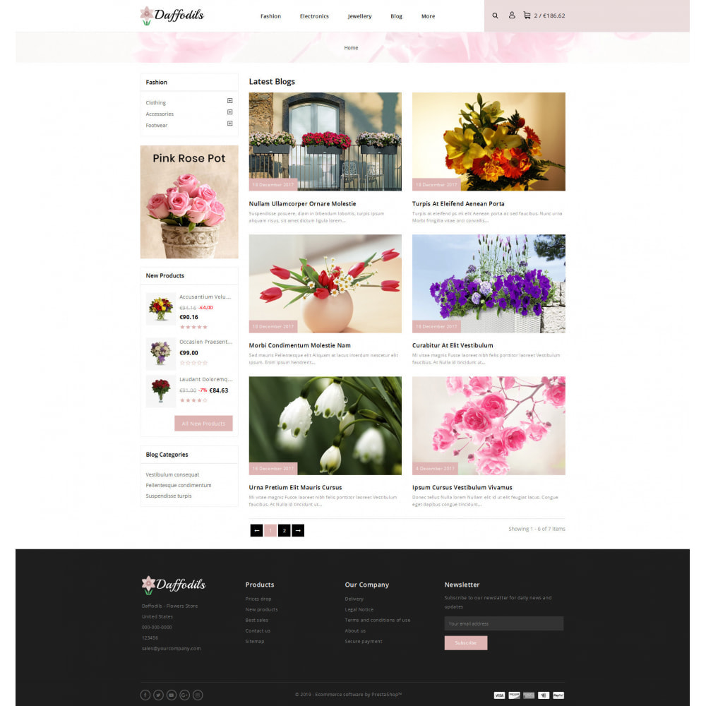 theme - Gifts, Flowers & Celebrations - Daffodils - Flowers Store - 9