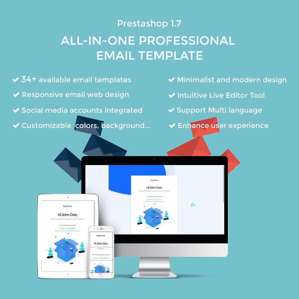 email - Template di e-mail PrestaShop - Ap Email Fuho - 1