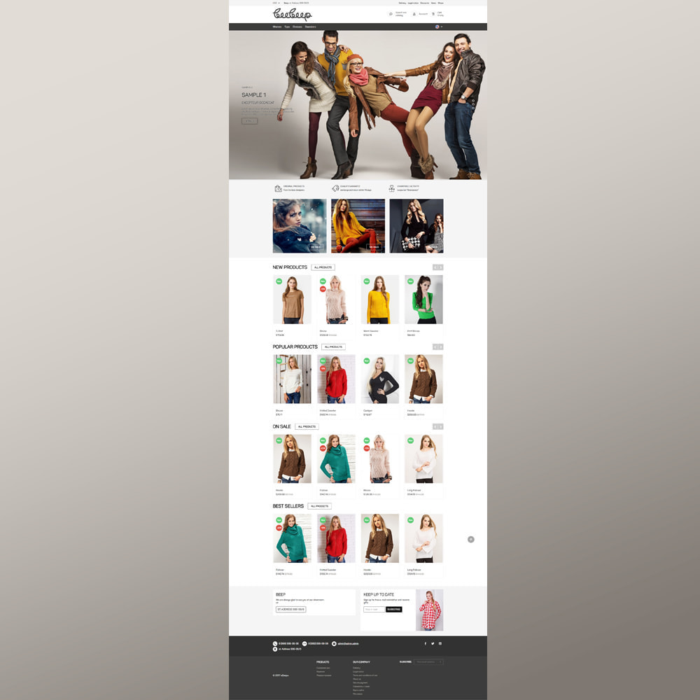 theme - Fashion & Shoes - Beep Clothes Store - 3