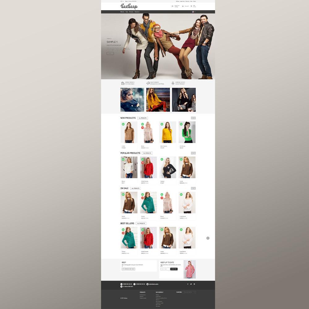 theme - Moda & Obuwie - Beep Clothes Store - 3