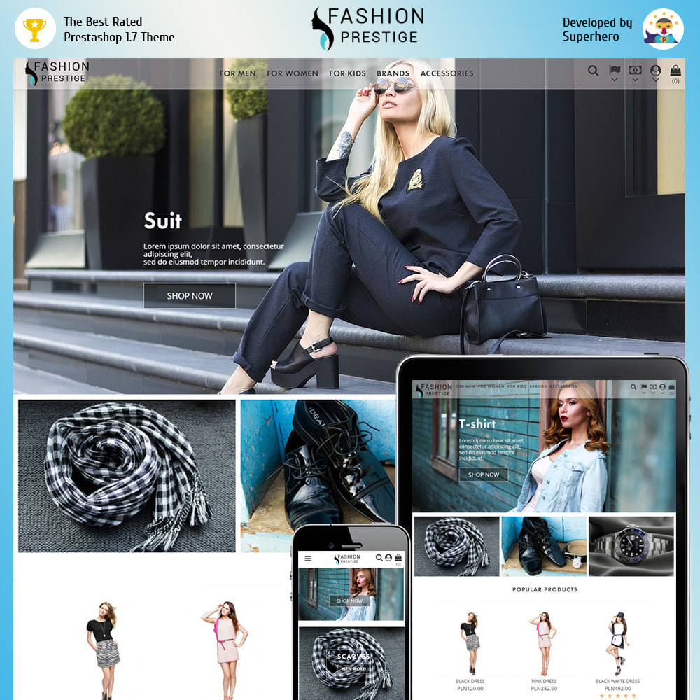 theme - Mode & Chaussures - Prestige Fashion - 1