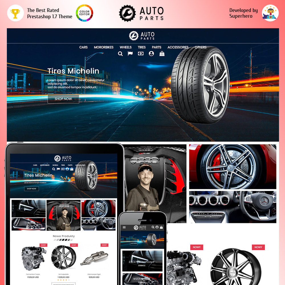 theme - Automotive & Cars - Auto Moto Parts - 1