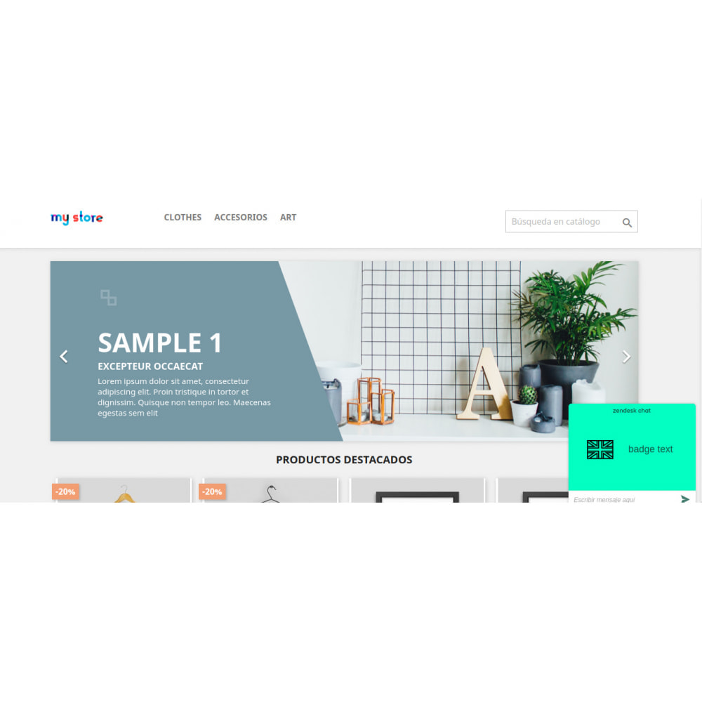 module - Support & Online-Chat - Prestazendesk - 3