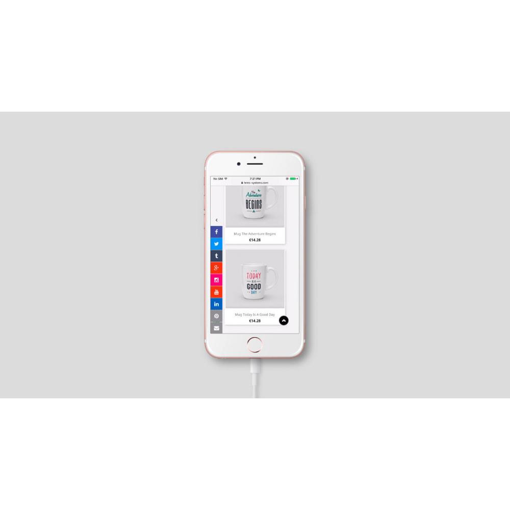 module - Widgets para redes sociales - Enlaces a la barra lateral de redes sociales - 3