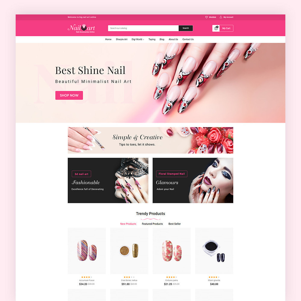 theme - Salute & Bellezza - Nailart Beauty Store - 2