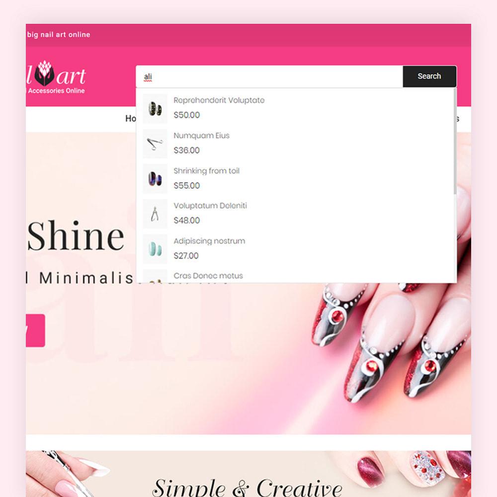 theme - Salute & Bellezza - Nailart Beauty Store - 3