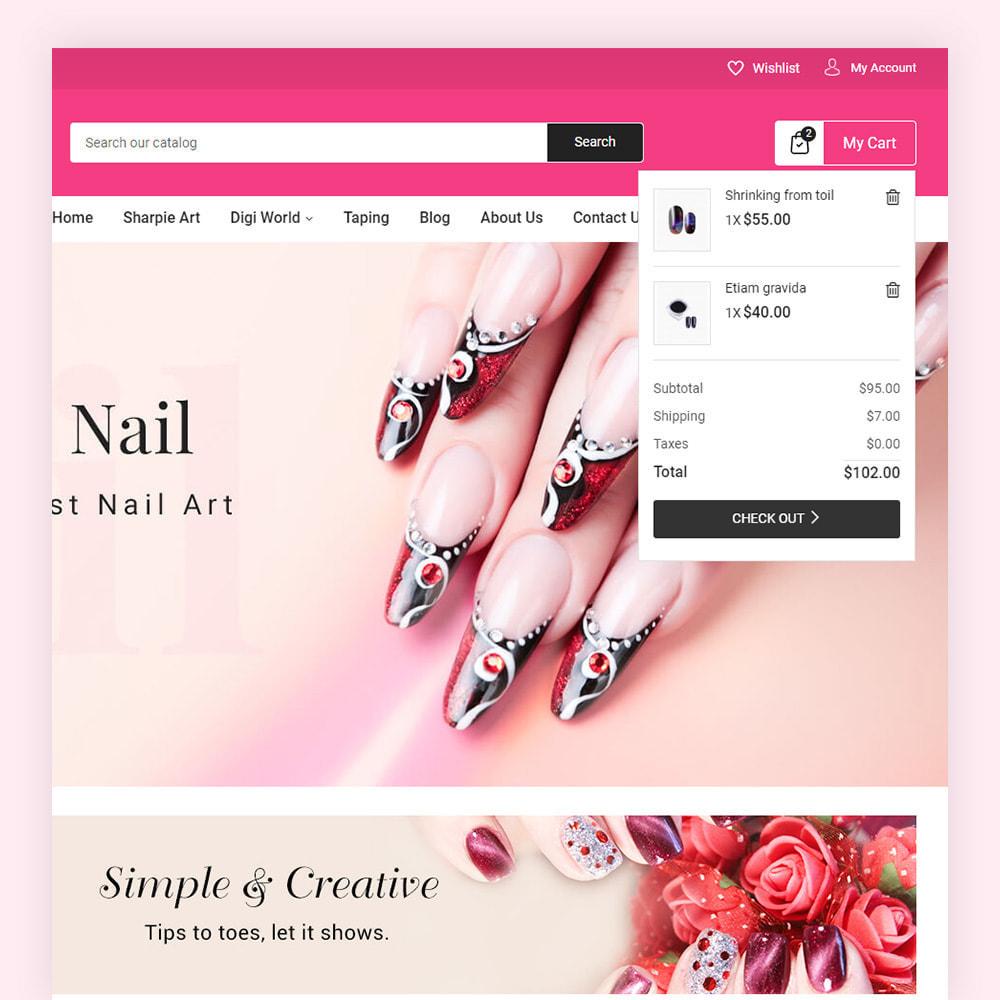 theme - Salute & Bellezza - Nailart Beauty Store - 4