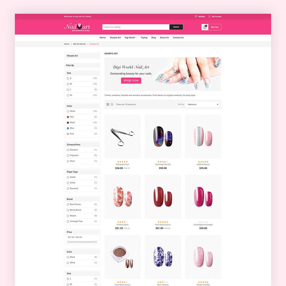 theme - Salute & Bellezza - Nailart Beauty Store - 5