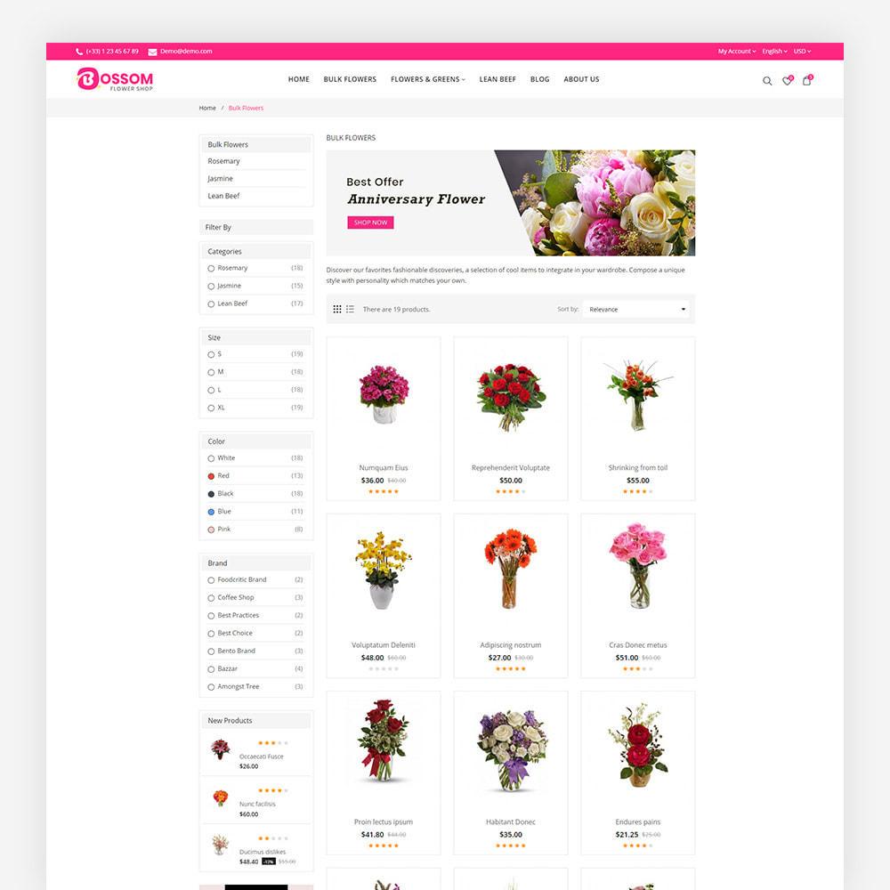 theme - Presentes, Flores & Comemorações - Bossom Flower Shop - 5