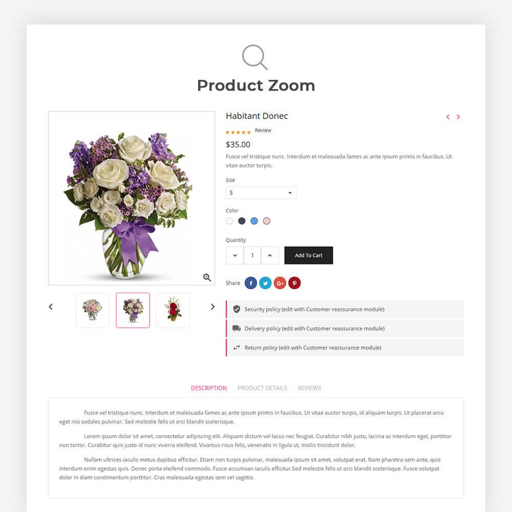 theme - Presentes, Flores & Comemorações - Bossom Flower Shop - 8