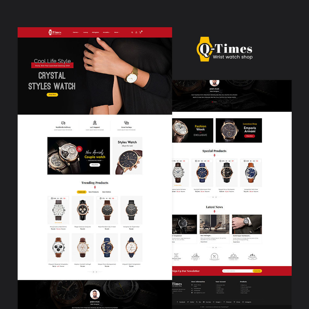theme - Jewelry & Accessories - Q-Times Watches Store - 2