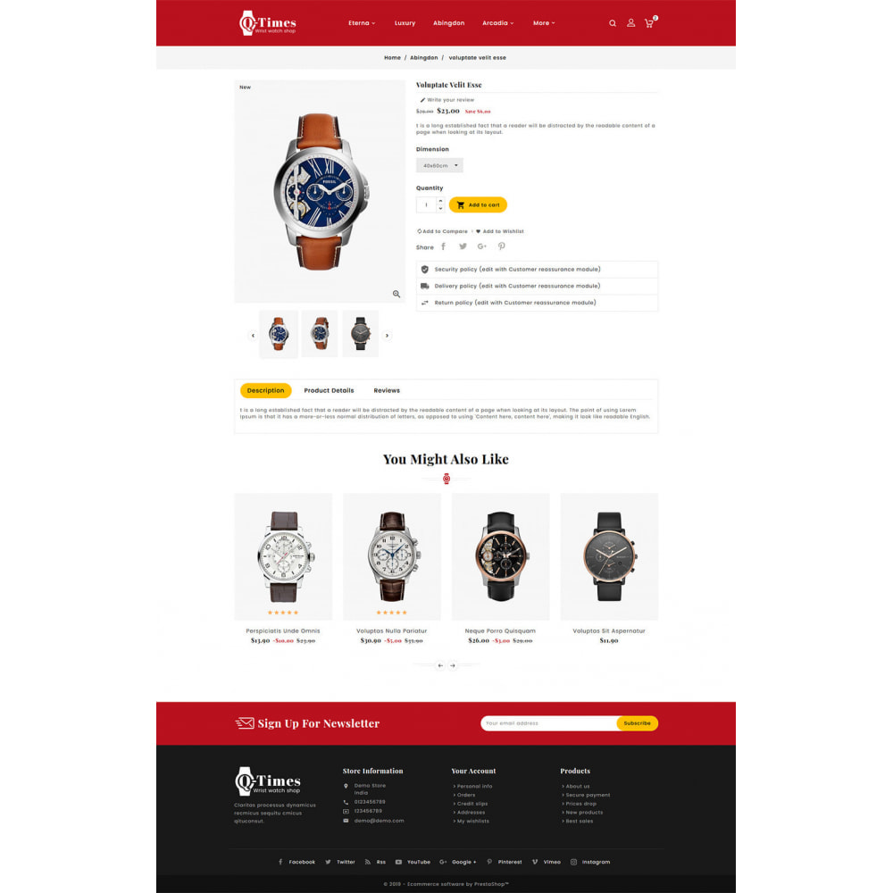 theme - Jewelry & Accessories - Q-Times Watches Store - 5