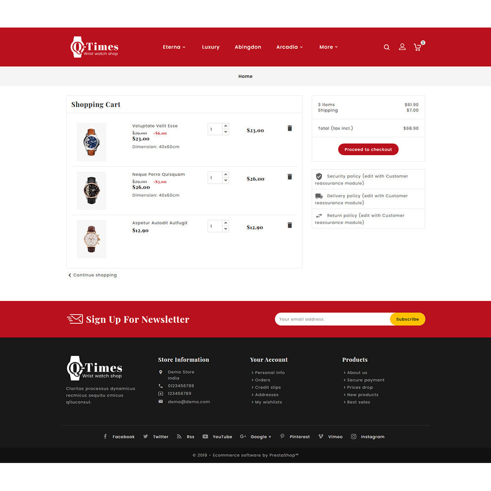 theme - Jewelry & Accessories - Q-Times Watches Store - 6