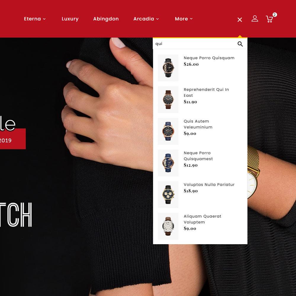 theme - Jewelry & Accessories - Q-Times Watches Store - 10