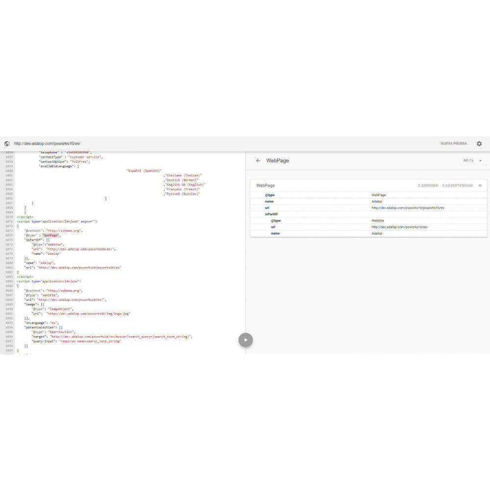 module - SEO (Posicionamiento en buscadores) - Integración Completa MICRODATOS y OPEN GRAPH - SEO - 14