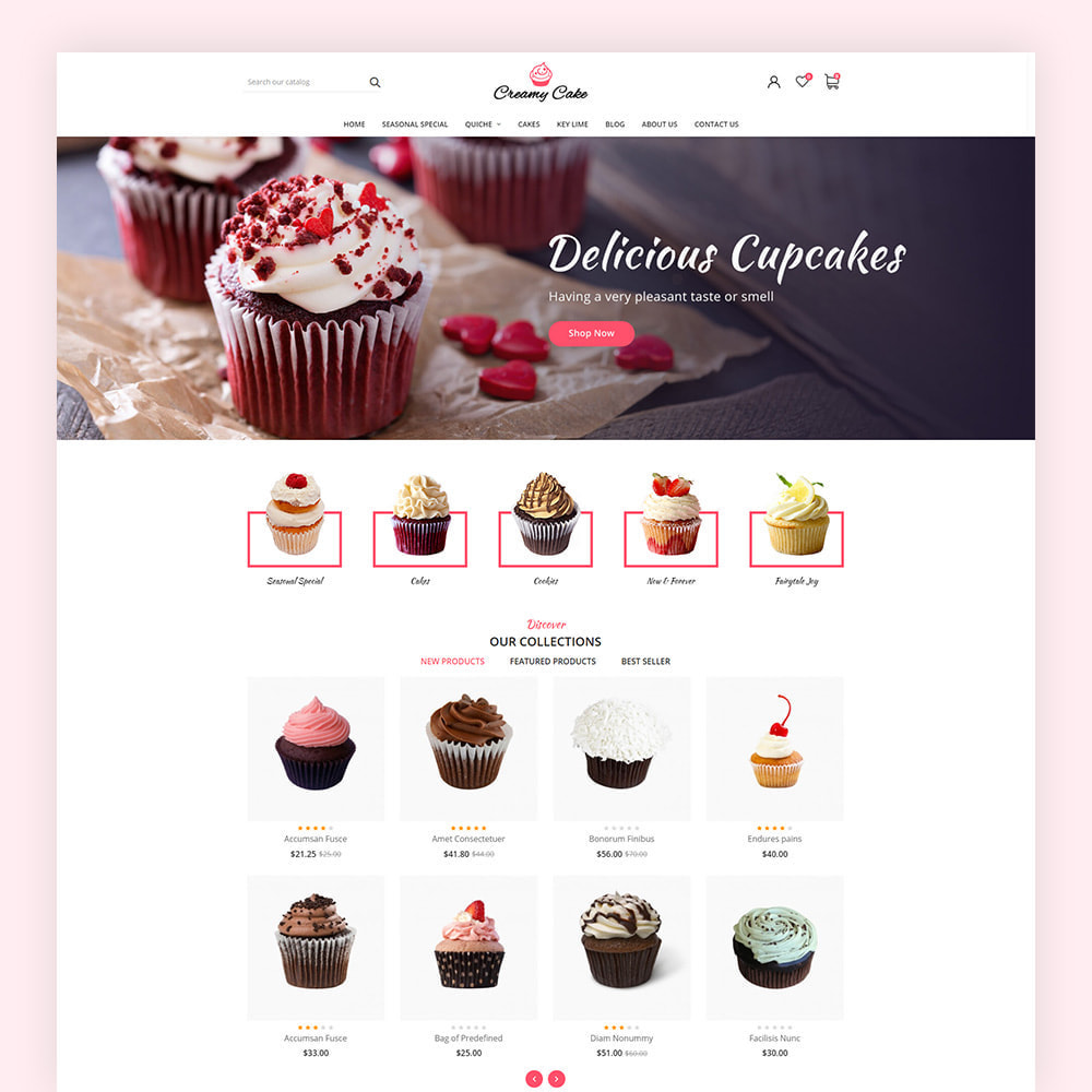 theme - Lebensmittel & Restaurants - Creamy Cake Shop - 2
