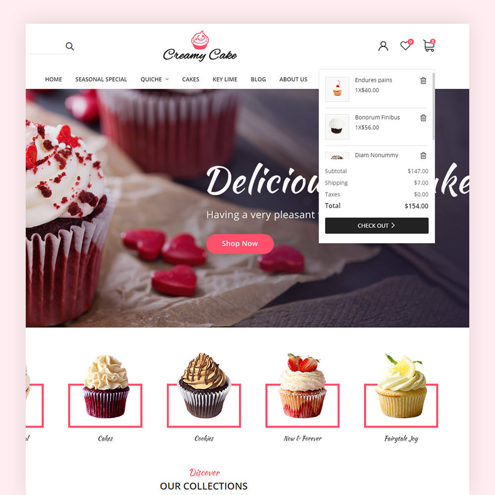 theme - Lebensmittel & Restaurants - Creamy Cake Shop - 4