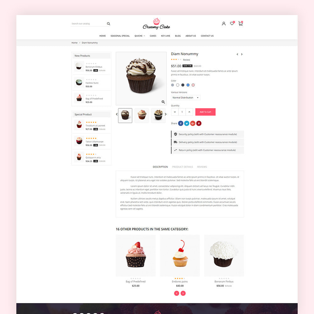 theme - Lebensmittel & Restaurants - Creamy Cake Shop - 7