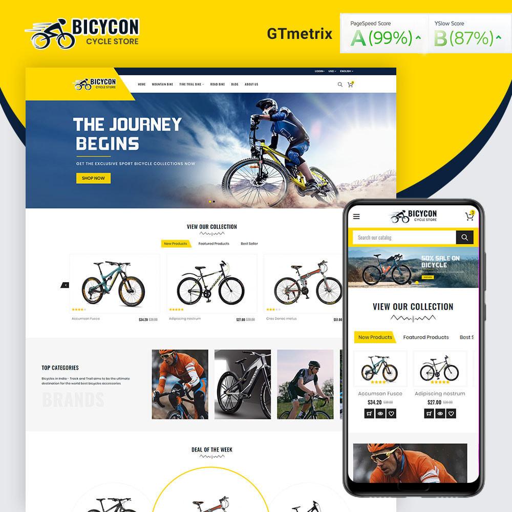 theme - Deportes, Actividades y Viajes - Bicycon Cycle Store - 1