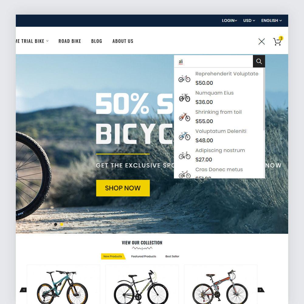 theme - Deportes, Actividades y Viajes - Bicycon Cycle Store - 3