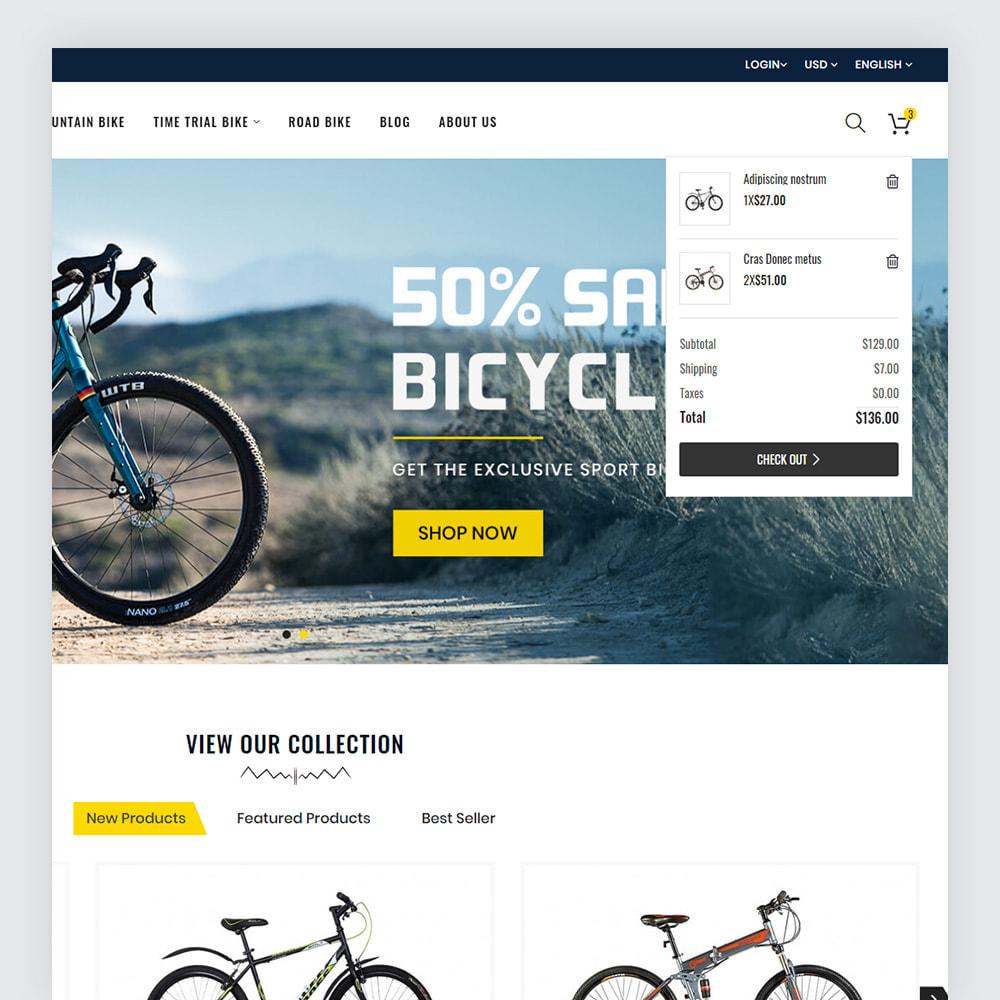 theme - Deportes, Actividades y Viajes - Bicycon Cycle Store - 4