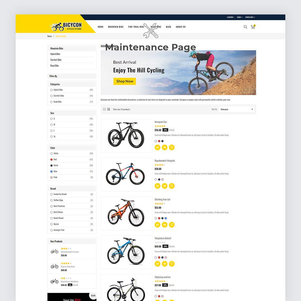 theme - Deportes, Actividades y Viajes - Bicycon Cycle Store - 6
