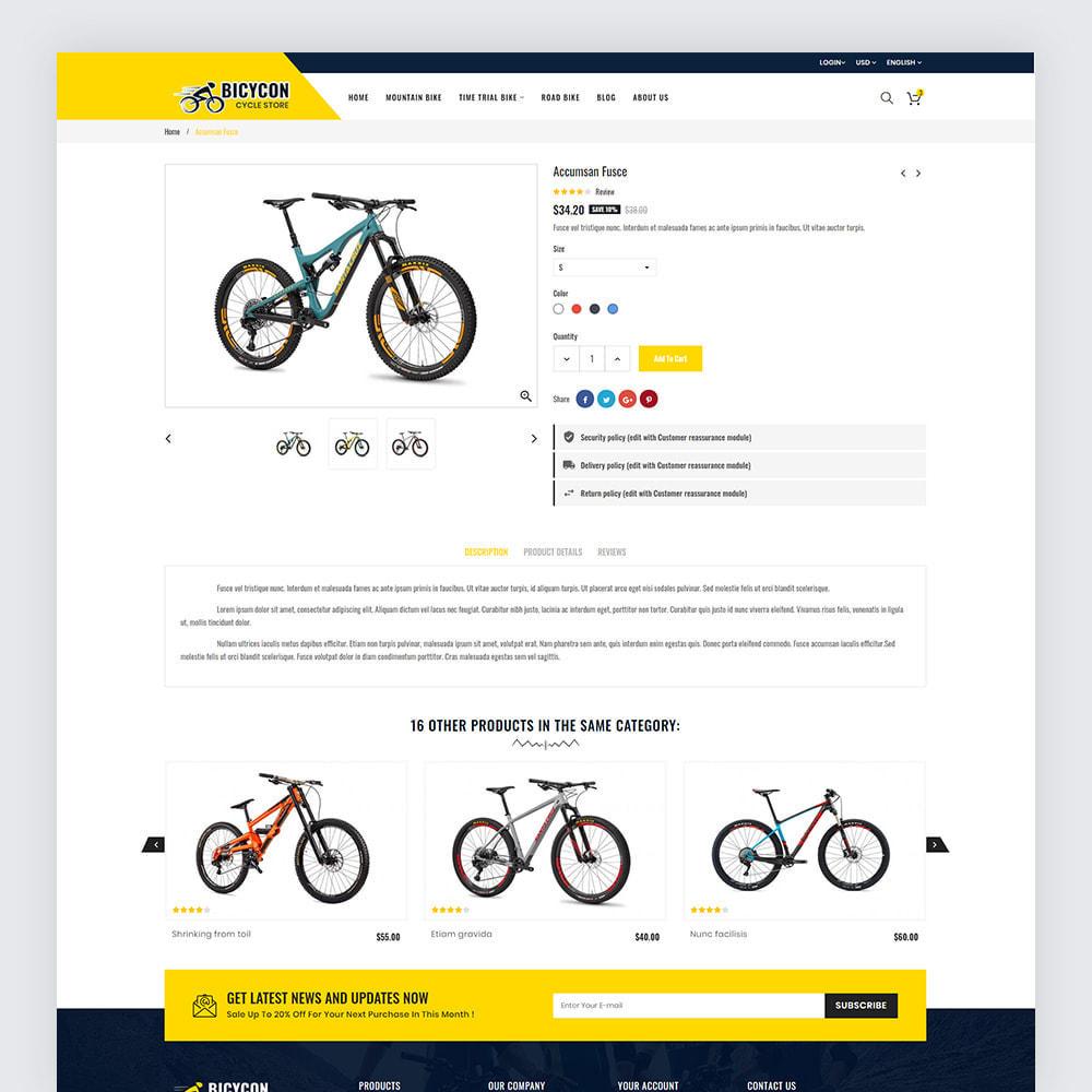 theme - Deportes, Actividades y Viajes - Bicycon Cycle Store - 7