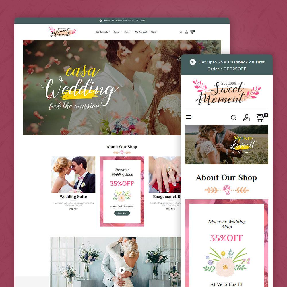 theme - Moda & Obuwie - Sweet Moment - Wedding Shop - 1