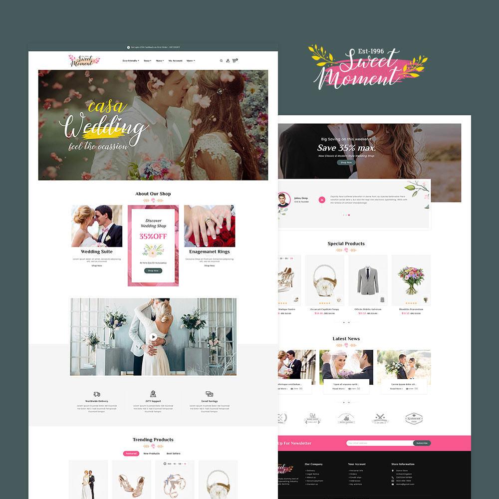 theme - Moda & Obuwie - Sweet Moment - Wedding Shop - 2