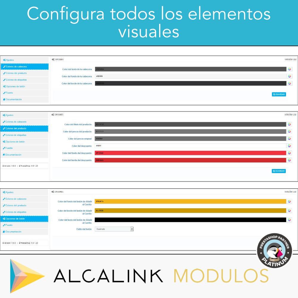 module - Bloques, Pestañas y Banners - Productos más vendidos POR CATEGORÍA - 3