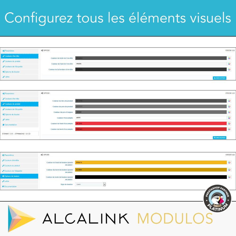 module - Blocs, Onglets & Bannières - Produits les plus vendus PAR CATÉGORIE - 3