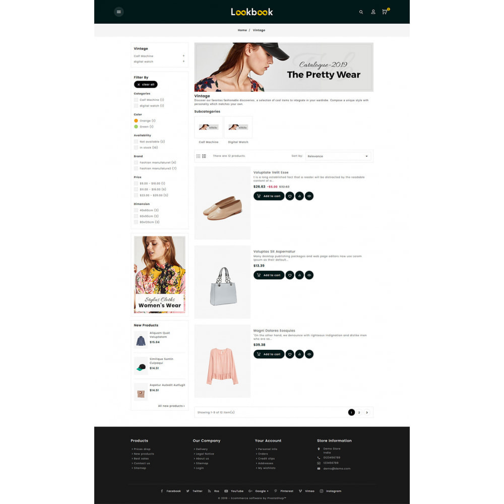 theme - Fashion & Shoes - Lookbook - Fashion Apparels - 4