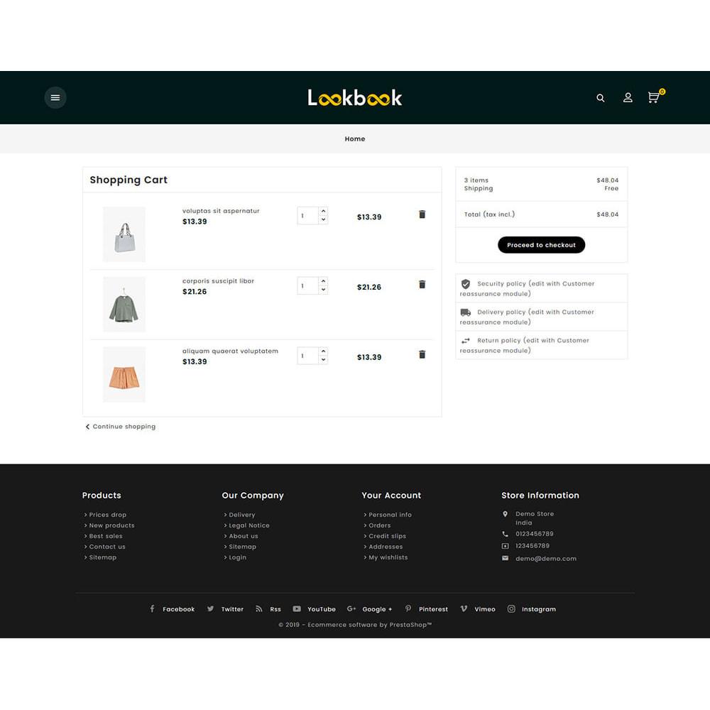 theme - Fashion & Shoes - Lookbook - Fashion Apparels - 6