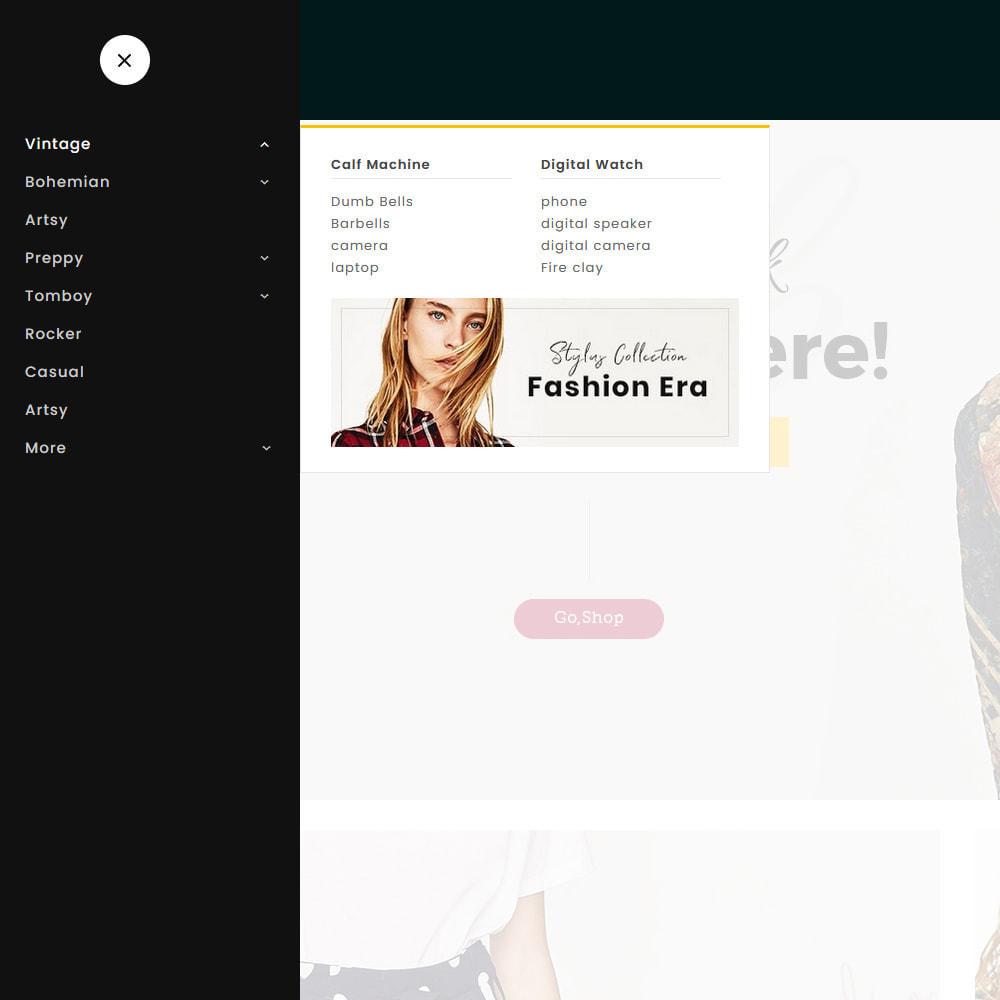 theme - Mode & Schoenen - Lookbook - Fashion Apparels - 9