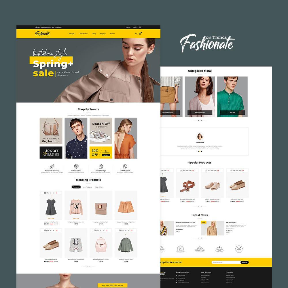 theme - Fashion & Shoes - Fashionate - Clothes & Trends - 2